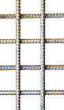 Grate, made of steel reinforcement rods Stock Photo