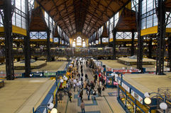 Grate market hall , Budapest Stock Photo