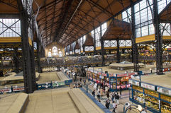 Grate market hall , Budapest Stock Images