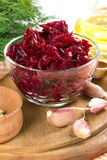 Grated beet Royalty Free Stock Photo