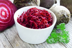 Grated beet Royalty Free Stock Photos
