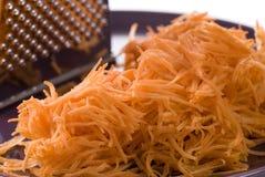 Grated Carrot Stock Photos
