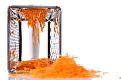 Grated carrot  Royalty Free Stock Image