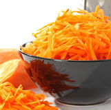 Grated carrot Royalty Free Stock Photos
