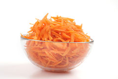 Grated carrots Stock Photography