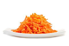 Free Grated Carrots Royalty Free Stock Image - 33500166