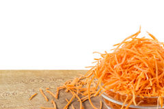 Grated carrots Royalty Free Stock Photos