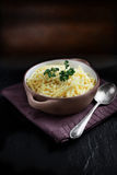 Grated Cheddar Cheese Stock Images