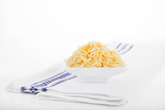 Grated cheese. Stock Photography
