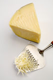 Grated cheese Royalty Free Stock Images