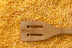 Grated cheese - background Stock Image