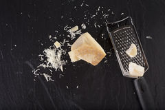 Grated cheese Royalty Free Stock Photos
