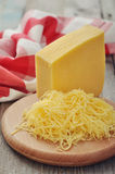 Grated cheese Royalty Free Stock Photography