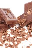 Grated chocolate. Stock Images