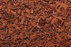 grated chokladdark Arkivfoto