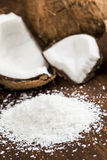 Grated coconut Stock Photos