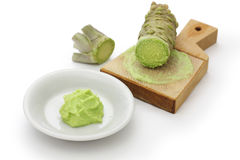 Grated fresh wasabi Royalty Free Stock Photography