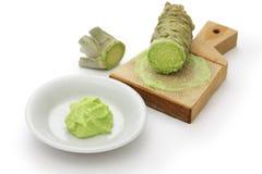 Grated fresh wasabi