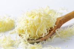 Grated horseradish Royalty Free Stock Images