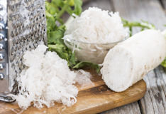 Grated Horseradish Royalty Free Stock Image