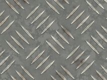 Grated Iron Flooring. With Texture Abstract Background stock illustration