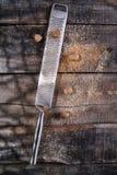 Grated nutmeg Royalty Free Stock Photos