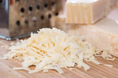Grated Parmesan Cheese Royalty Free Stock Photos