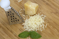 Grated parmigiano Royalty Free Stock Photos