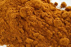Grated red pepper powder Royalty Free Stock Images