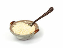 Grated Romano Cheese Stock Photography