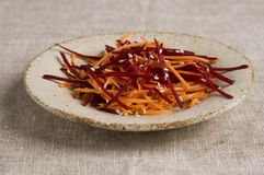 Grated salad Royalty Free Stock Photography