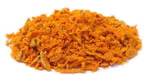 Grated turmeric Stock Images