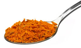 Grated turmeric Stock Photo