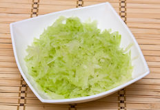 Grated vegetable Stock Photography