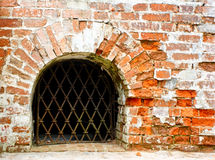 Grated window Stock Images