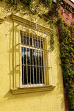 Grated window Royalty Free Stock Photography