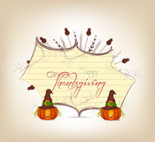 Grateful heart thanksgiving greeting card Stock Photos