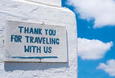 Grateful sign at Greece pier. Grateful sign on a stone wall at Greece pier stock photos