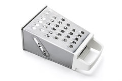 Grater. On Isolated White Background Stock Images