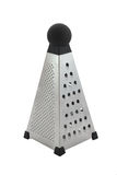 Grater. Stainless steel grater, isolated over white background Stock Photos