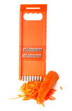 Grater And Carrot Royalty Free Stock Image