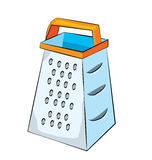 Grater cartoon Royalty Free Stock Images