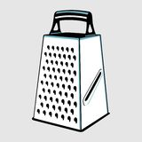 Grater with handle Stock Image