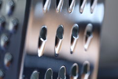 Grater macro Royalty Free Stock Images