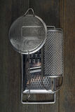 Graters and colander Stock Image
