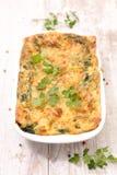 Gratin овоща с сыром стоковое фото rf