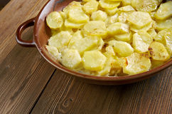 Gratin dauphinois Royalty Free Stock Photo