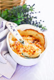 Gratin provencal eggs Stock Photography