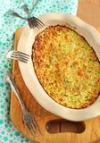 gratin zucchini Zdjęcie Stock