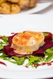 gratinated козочки сыра Стоковая Фотография